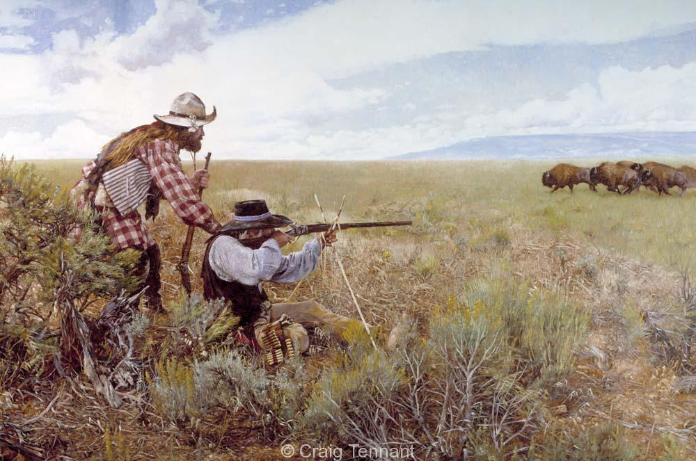 Buffalo Hunters I - Craig Tennant - Craig Tennant Originals