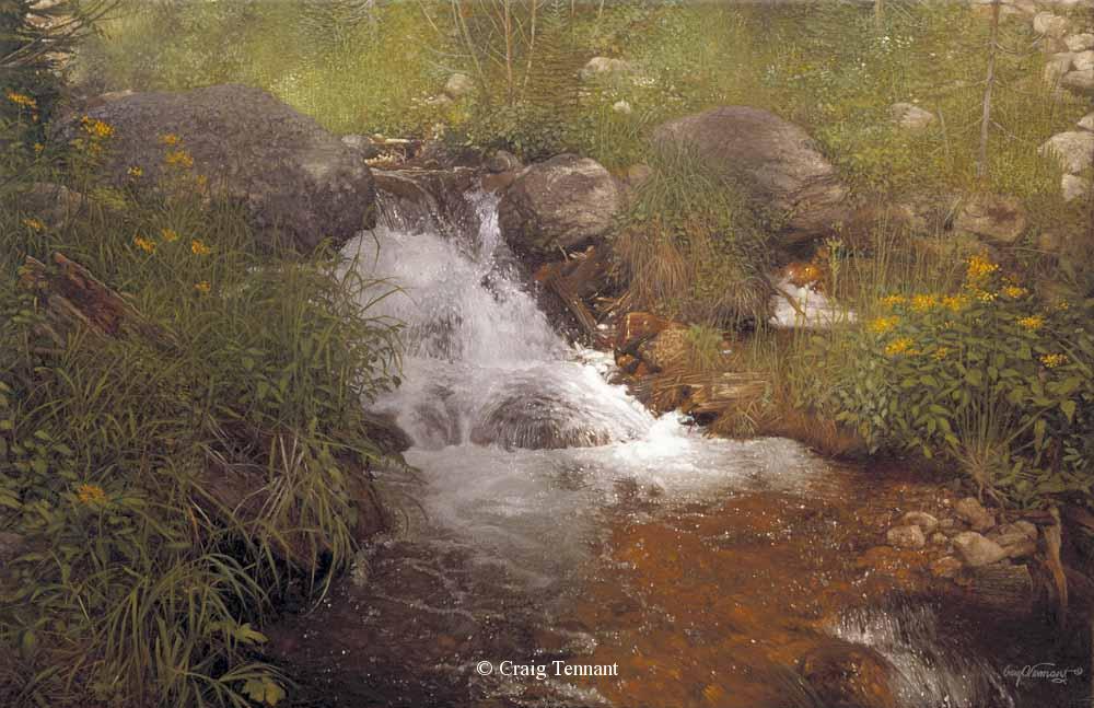 "Eden 26"" x 40"" Oil on Linen - Craig Tennant - Craig Tennant Originals"