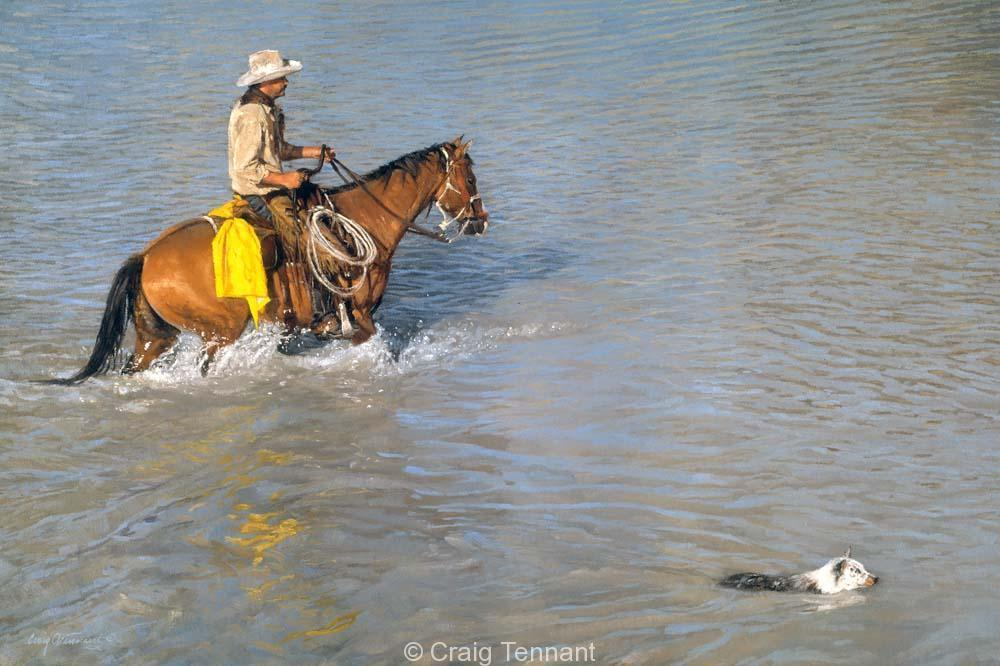 My Best Friend - Craig Tennant - Craig Tennant Originals Western Art Cowboy Art