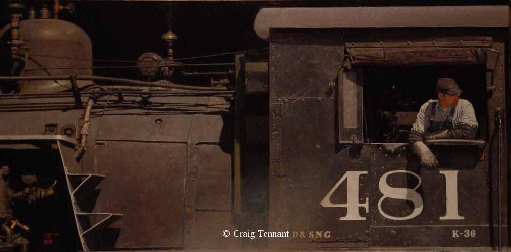 Night Train - Craig Tennant - Craig Tennant Originals