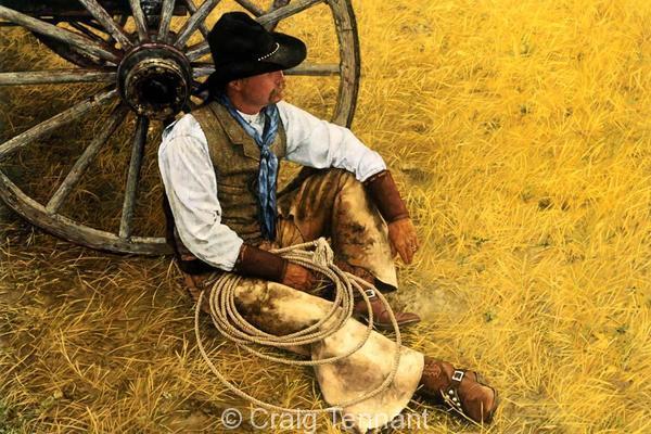 Rocky - Craig Tennant - Craig Tennant Originals Western Art Cowboy Art
