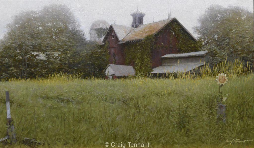 "Hidden Treasures 17"" x 30"" Original Oil Painting on Linen by Craig Tennant East Coast Art Artwork"